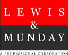 Lewis and Munday back to home page
